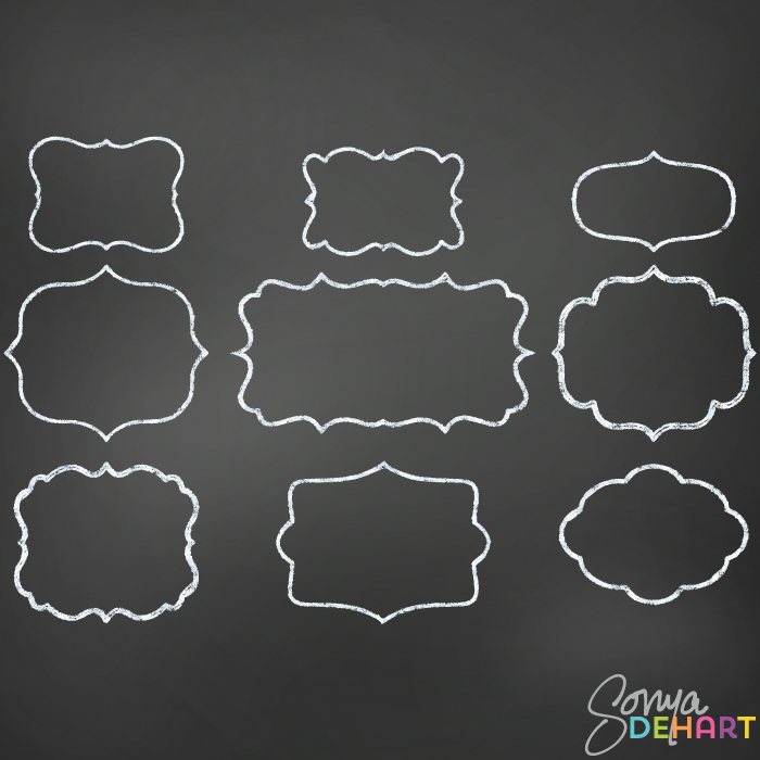 Gallery For Chalkboard Border Clip Art Png.