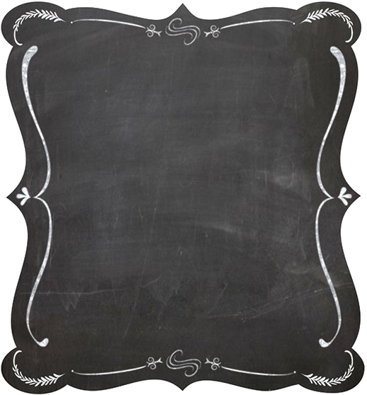 Blackboard Picture Clip Art Black Border.