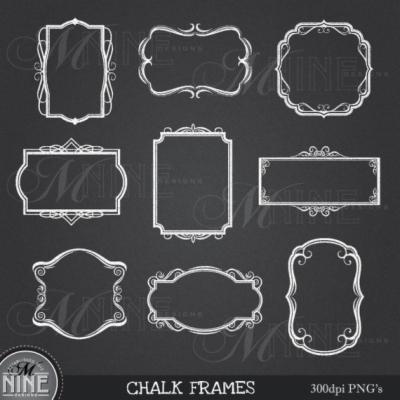 chalk border , Free png download.