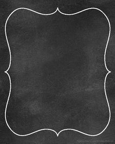 Chalk Border Clipart.