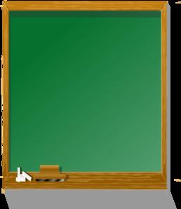 Chalkboard green clipart.