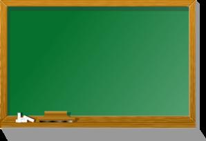 Chalkboard clip art free.