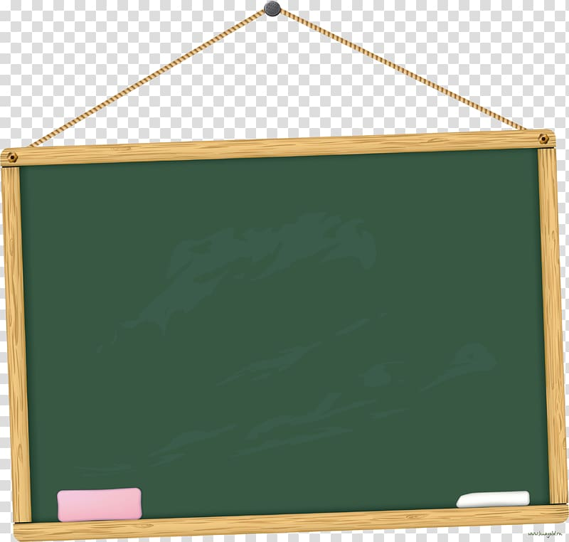 Student School Blackboard Classroom, Cartoon blackboard, green.