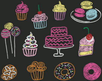 Free Chalkboard Cupcake Cliparts, Download Free Clip Art, Free Clip.