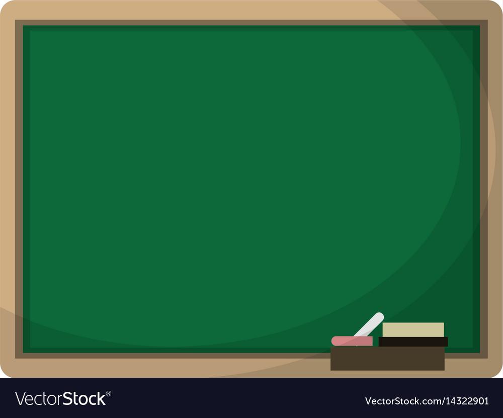 Chalkboard eraser white chalk.