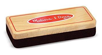Melissa & Doug Felt Chalk Eraser.