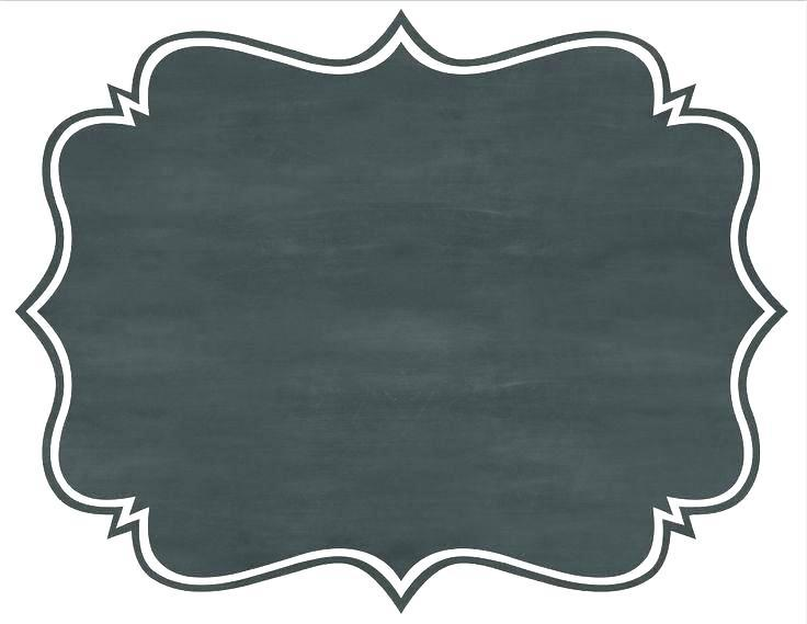 Single chalkboard frame clipart 5 » Clipart Portal.