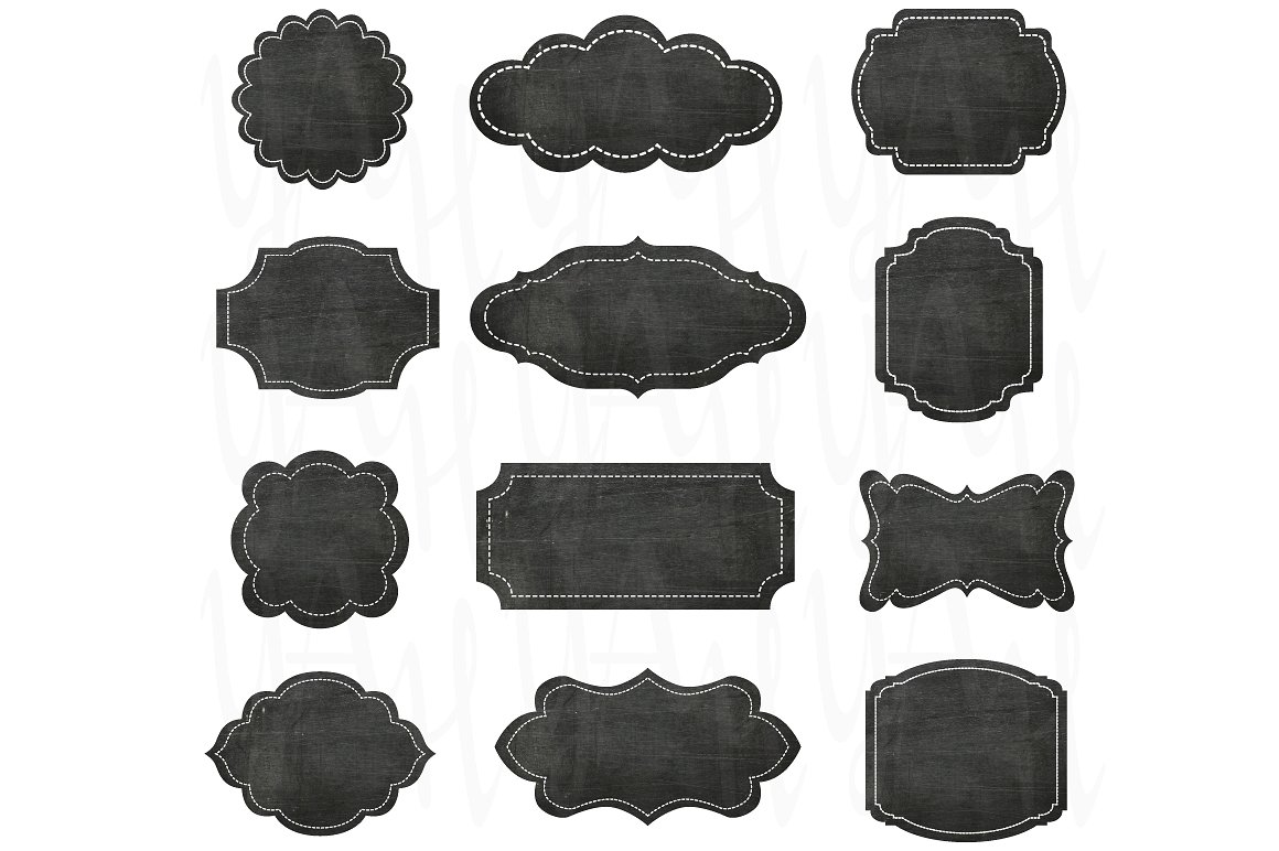 Chalkboard frames clipart » Clipart Station.