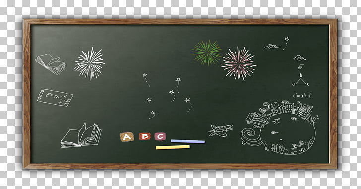 Blackboard Classroom, Blackboard chalk fireworks, chalkboard.