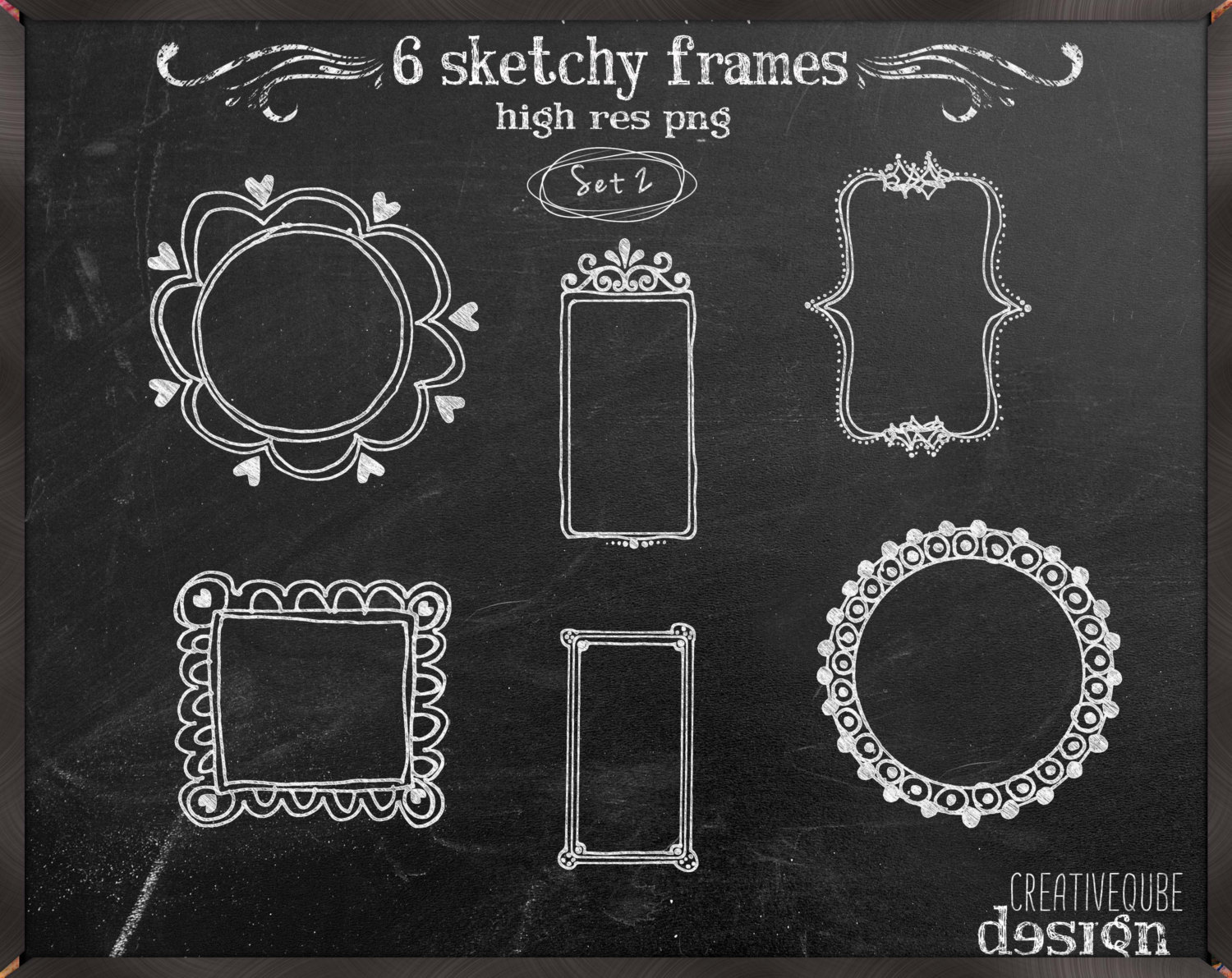 chalkboard drawing clipart.