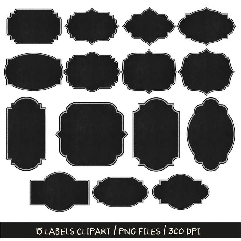 BUY 3 PAY FOR 2, Chalkboard labels clip art, chalk frames clipart, chalk  label clip art, chalkboard design elements, cards making, download.