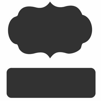 Chalk Labels,Printable Labels And Chalkboard Font,Chalkboard Sticker.