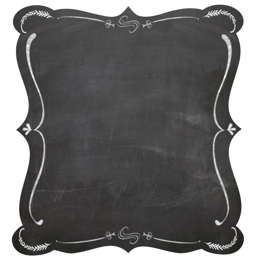 These chalkboard stickers were inspired by chalkboard signs in cafes.