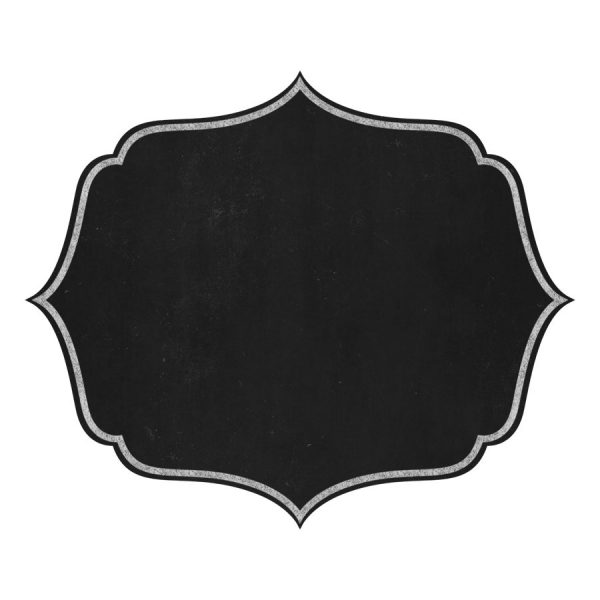 Chalkboard Labels Clip Art, Chalk Frames Clipart By Pededesigns with.