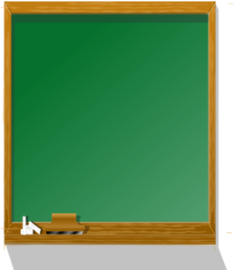 Free chalkboard clipart public domain chalkboard clip art.