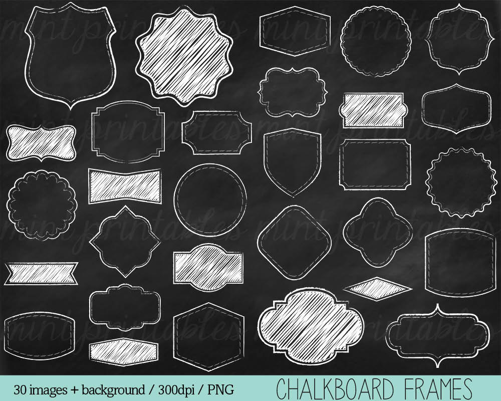 Free Chalkboard Clipart & Free Clip Art Images #12361.