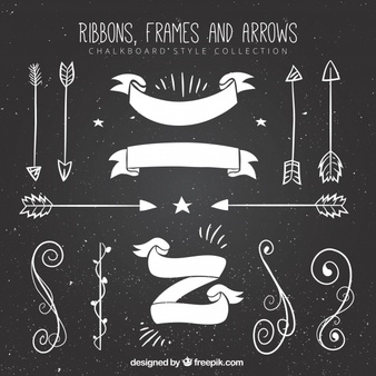 Chalkboard Elements Vectors, Photos and PSD files.