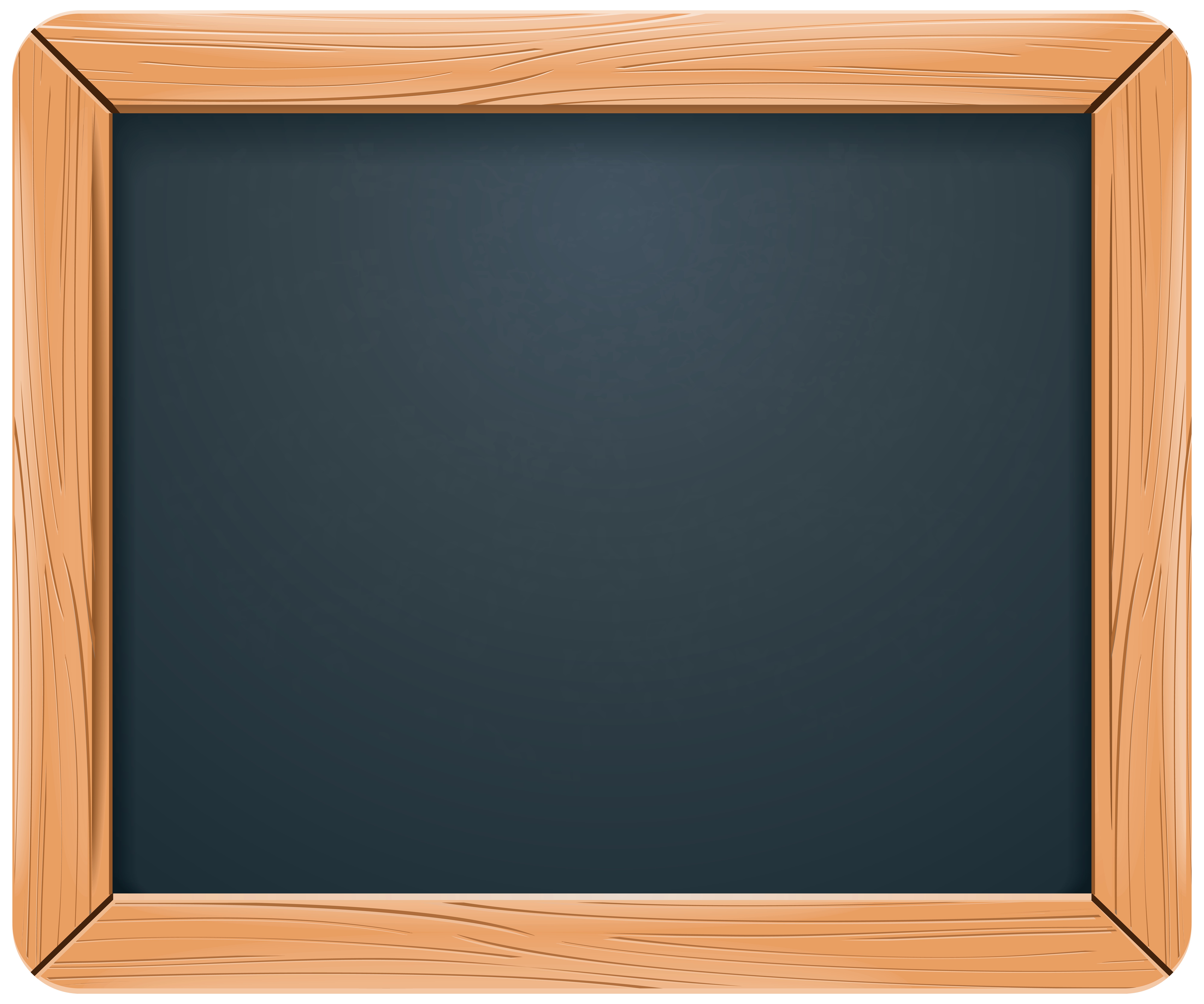 Chalkboard PNG Clip Art Image.