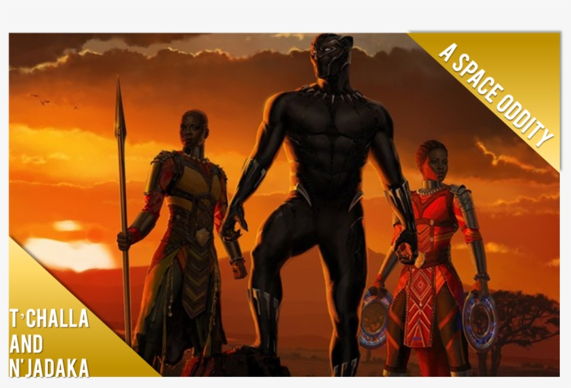 T'challa And N'jadaka Is The Centerpiece Of The Film.