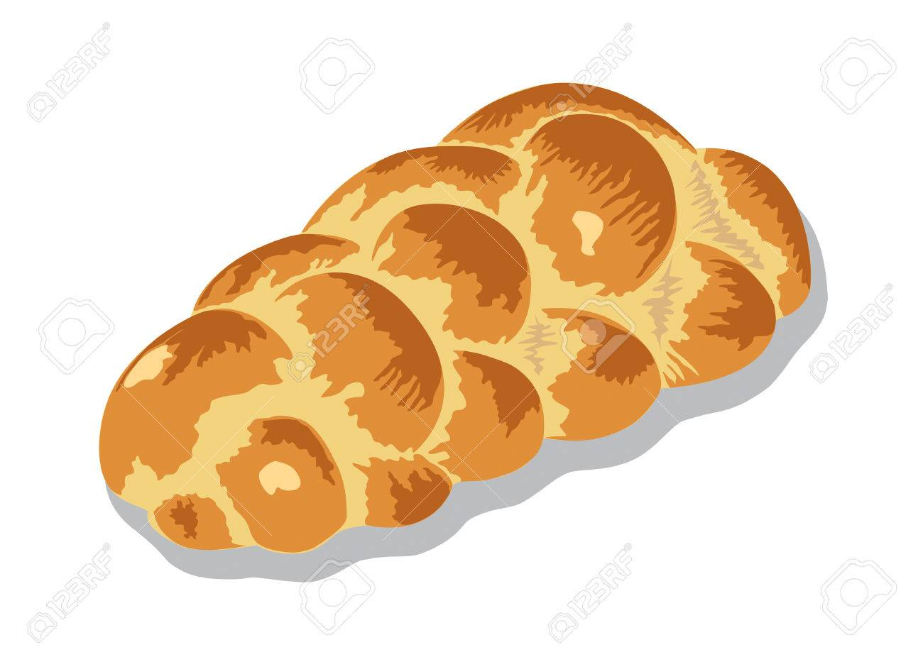 zopf or challah bread.