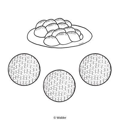 Challah clipart black and white 6 » Clipart Station.