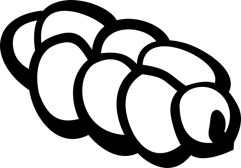 Challah Clipart Black And White (103+ images in Collection) Page 1.