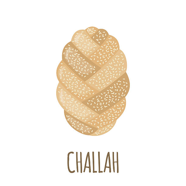 Challah Clip Art, Vector Images & Illustrations.
