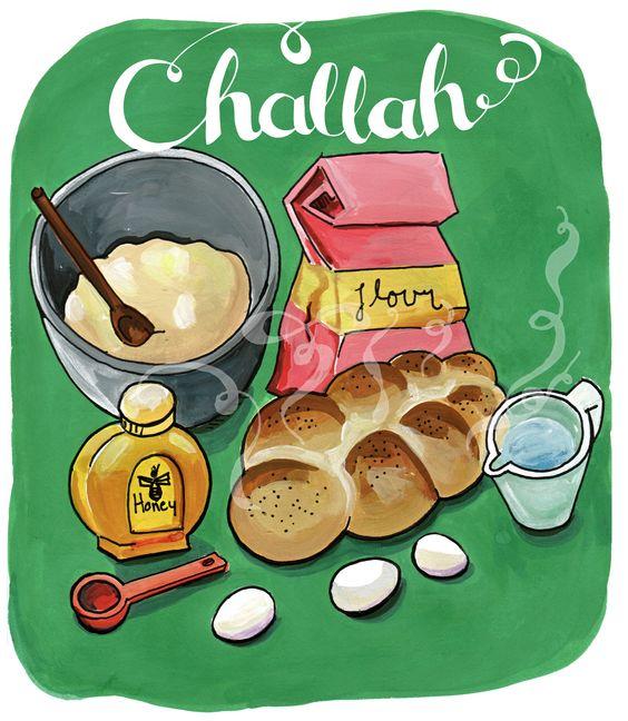 Shabbat Bread: חלה.