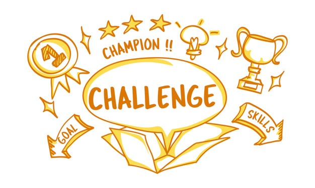 Challenge Vectors, Photos and PSD files.