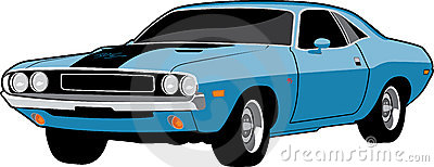 Dodge challenger clipart hd.