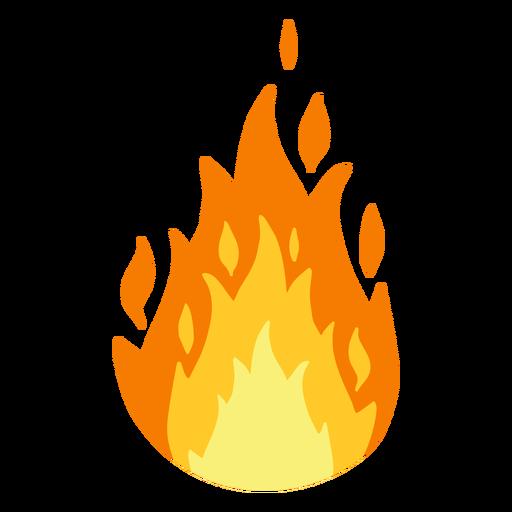 Clipart de chamas.