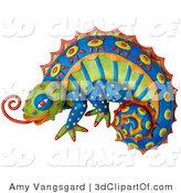 Royalty Free Chamaeleonidae Stock Designs.