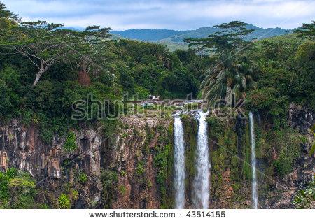 Chamarel Mauritius Stock Photos, Royalty.