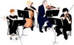 Chamber music clipart.