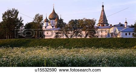 Stock Photography of Suzdal Kremlin Archbishop's Chambers ( XV.