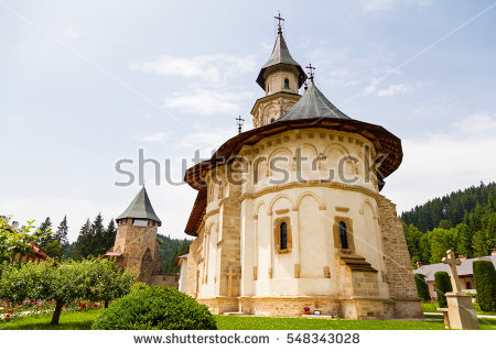 Medieval Monastery Stock Photos, Royalty.