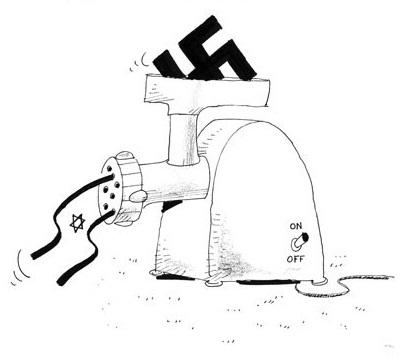 Iranian Cultural Foundation Mocks Holocaust.