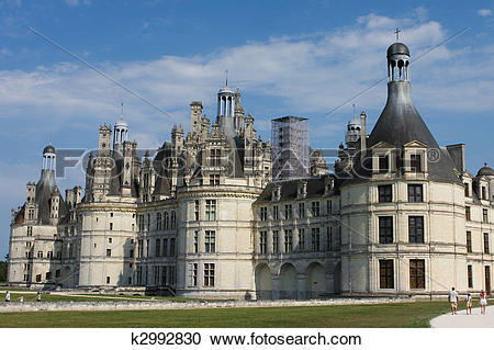 Stock Photography of Chateau de Chambord k2992830.