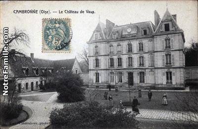 Photos et cartes postales anciennes de Cambronne.