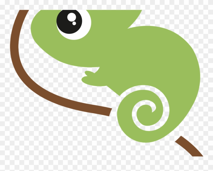 Png Freeuse Chameleon Clipart Baby.