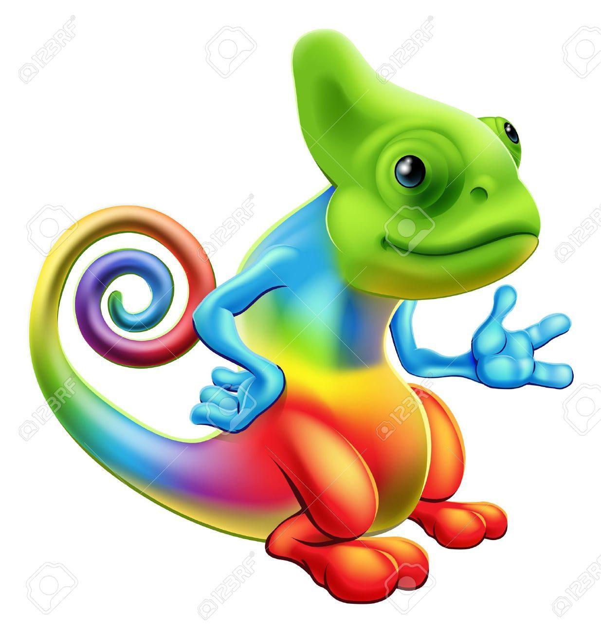 Chameleon clipart free 5 » Clipart Portal.