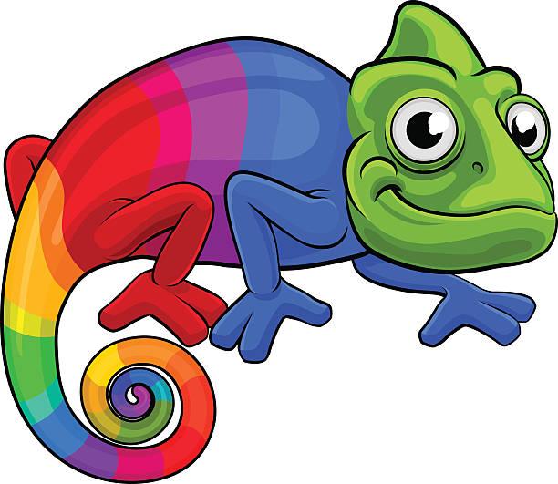 Best Chameleon Illustrations, Royalty.