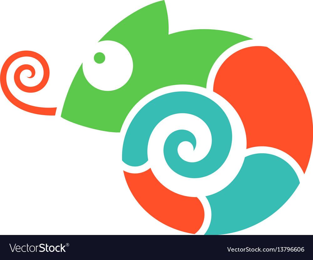 Chameleon logo.