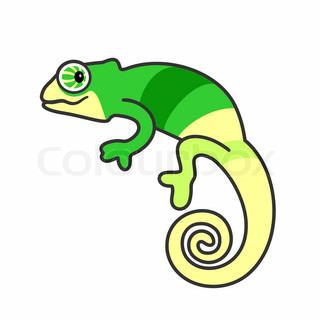 Chameleon clipart clip art.