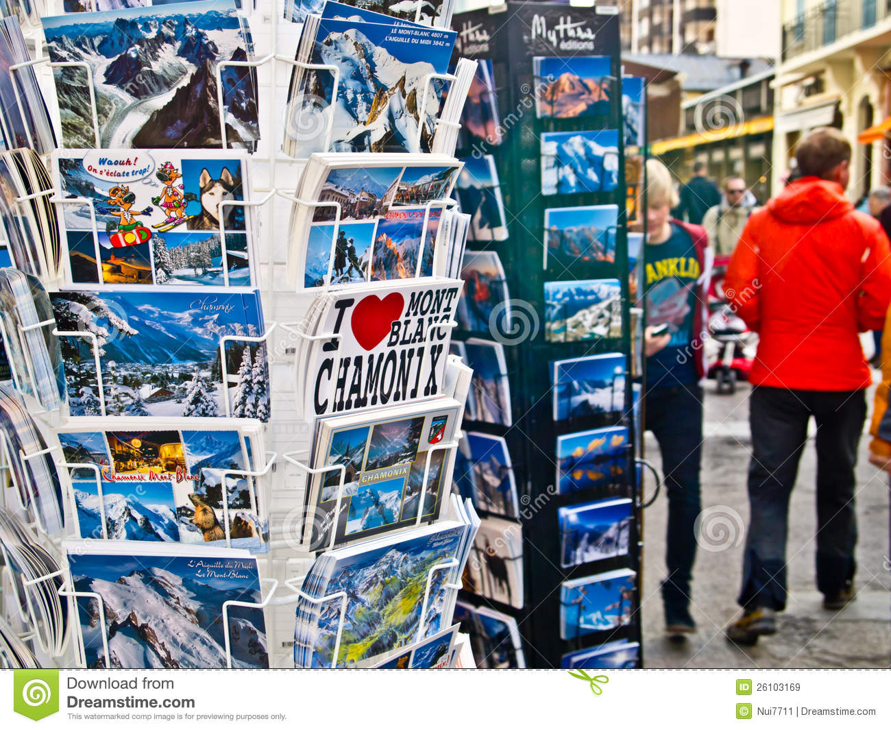 Chamonix Souvenir Shop 1 Editorial Stock Image.