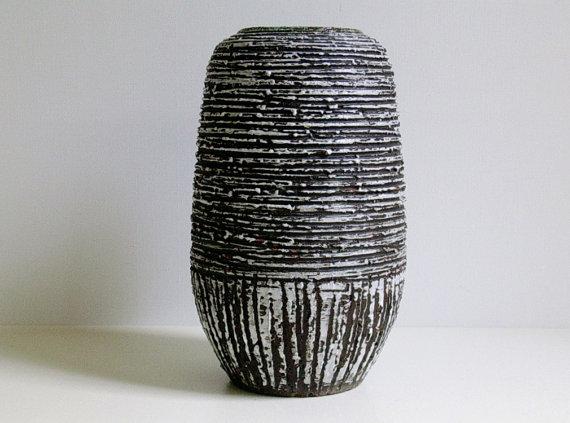 Spara chamotte keramik ceramic vase West by vintage2remember.