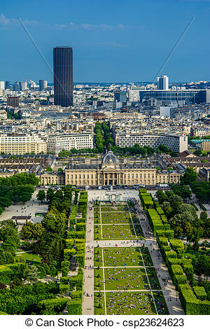 Stock Photo of Paris landscape.