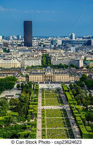 Stock Photo of Paris landscape.