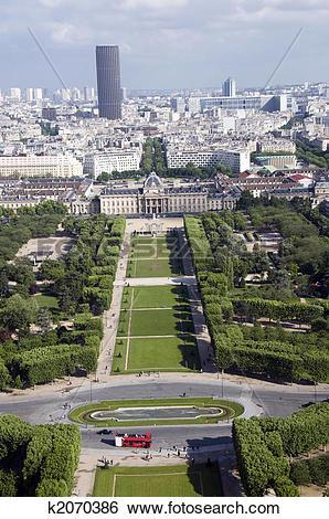 Stock Images of champ de mars park paris france k2070386.