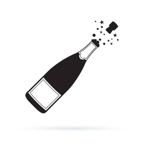 Champagne Bottle Clipart (98+ images in Collection) Page 2.